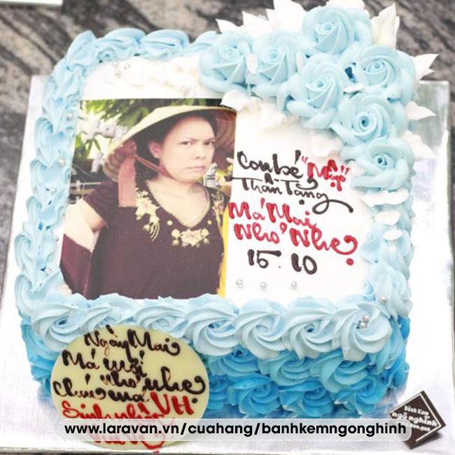 Bánh kem sinh nhật in hình người nổi tiếng