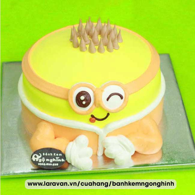 Bánh kem sinh nhật nhân vật hoạt hình minion, kẻ cắp mặt trăng