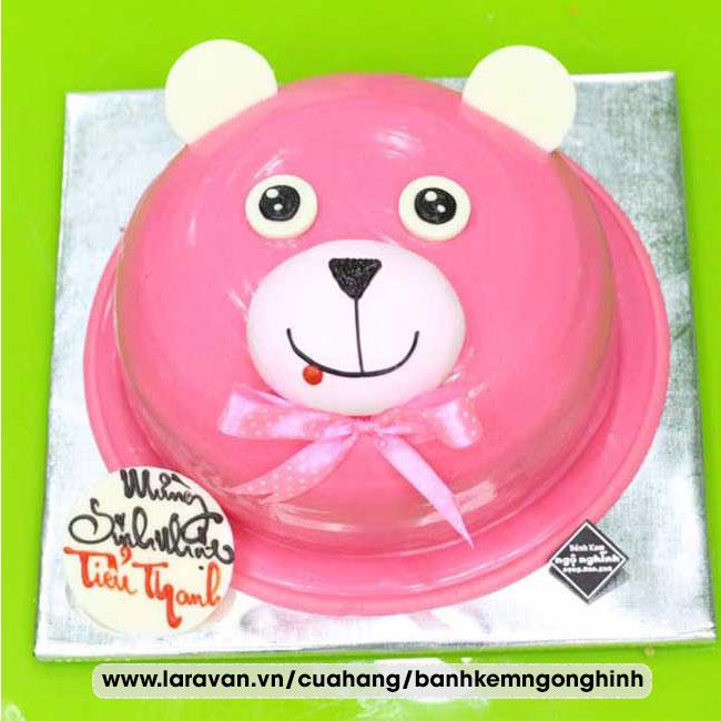 Bánh kem sinh nhật nhân vật hoạt hình gấu