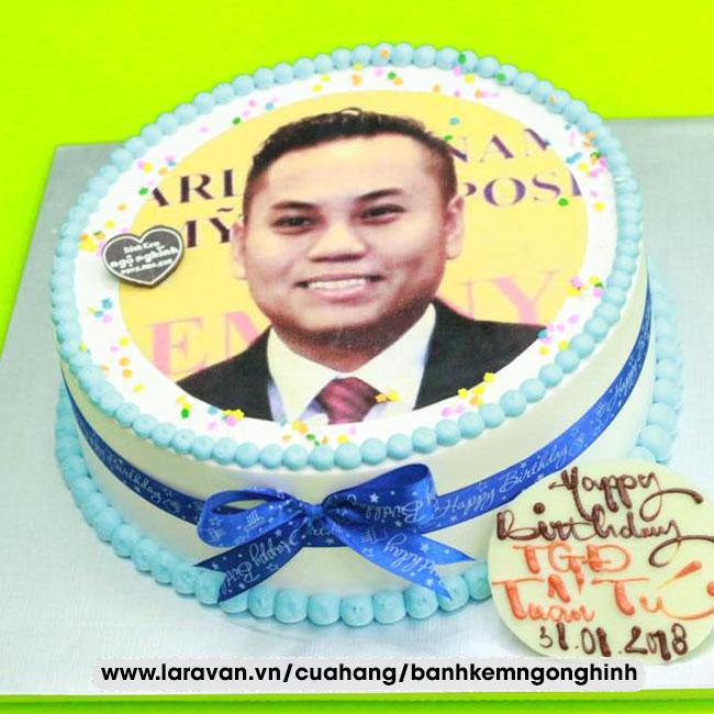 Bánh kem sinh nhật tặng sếp đẹp dễ thương