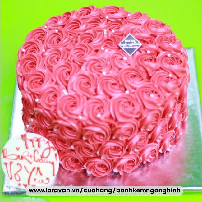 Bánh kem sinh nhật tặng vợ yêu