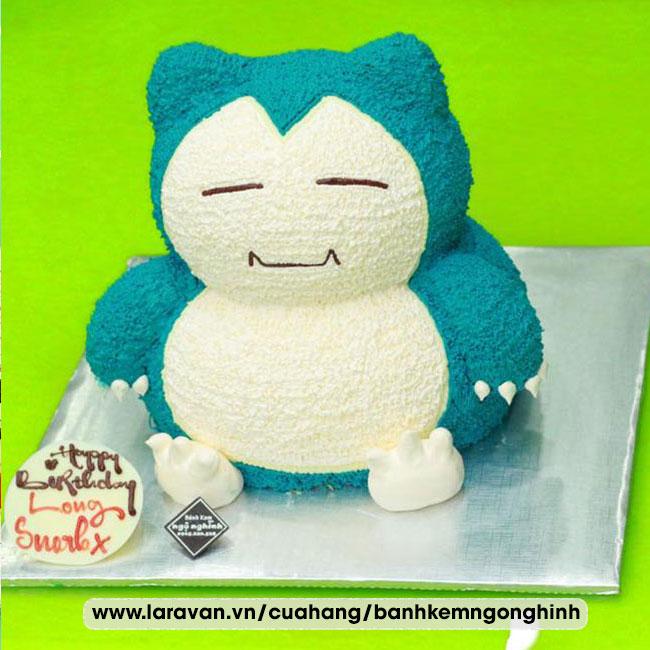 Bánh kem sinh nhật tạo hình 3d nhân vật hoạt hình