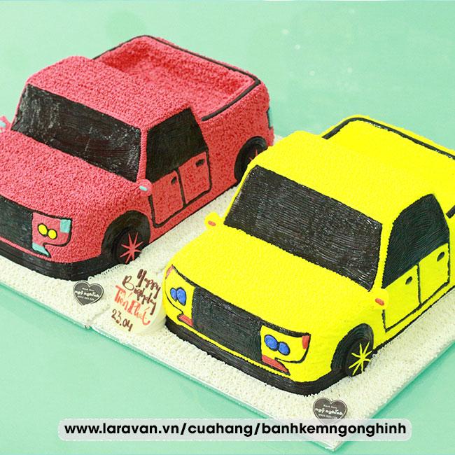 Bánh kem sinh nhật tạo hình siêu xe