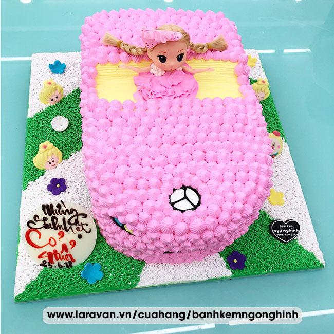 Bánh kem sinh nhật tạo hình xe mui trần