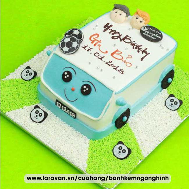 Bánh kem sinh nhật tạo hình xe hơi, xe ôtô