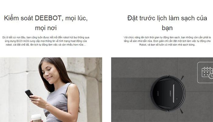 Robot Hút Bụi Deebot | Robot Hút Bụi Deebot Cần Thơ