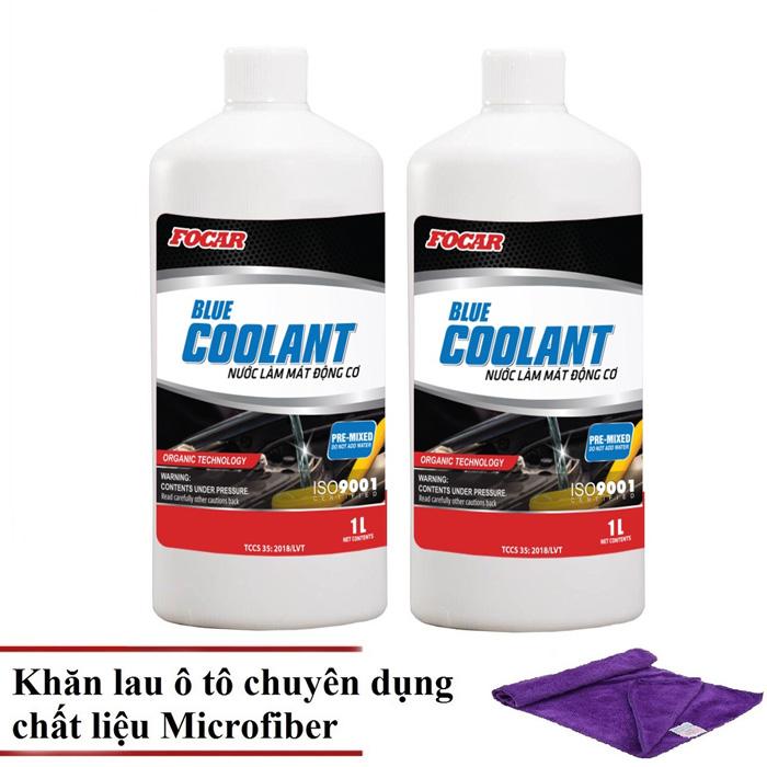 Bộ 2 sản phẩm nước làm mát ô tô