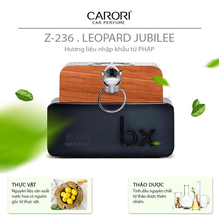 Nước hoa ô tô Carori Leopard Jubilee Z-2362 Classic 60ml